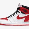 """【リーク】エアジョーダン1 ハイ OG ホワイトユニバーシティレッド / Air Jordan 1 High OG """"White/University Red"""""""