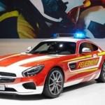 誰の足車に?メルセデスベンツAMG GT S の消防車