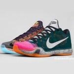 """リーク  Nike Kobe 10 Elite Low """"What The"""" sample"""