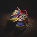 "1月30日発売予定 Beams T x diadora n9000 ""rainbow"""