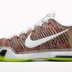 限定再発売開始  Nike Kobe X Elite Low iD Flyknit Multi Color