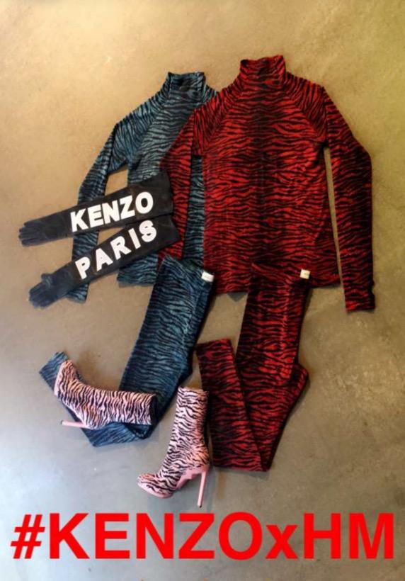 H&M KENZO