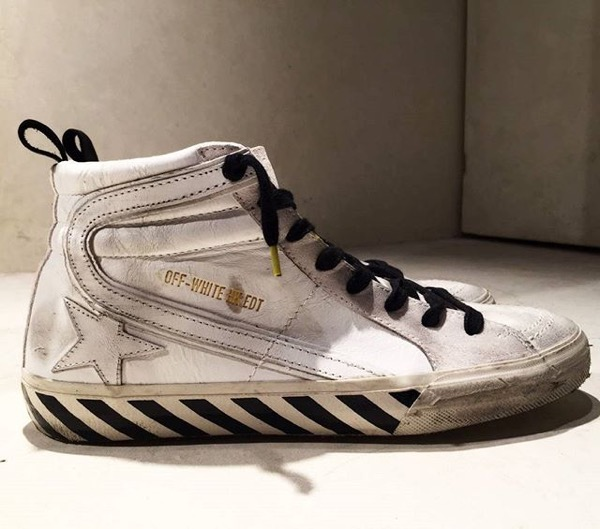 OFF-WHITE x Golden Goose