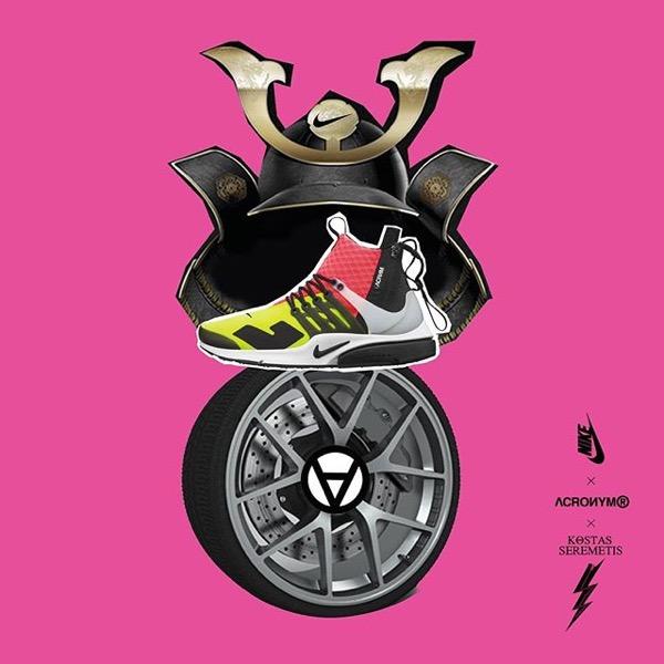 NikeLab x Acronym AIR PRESTO