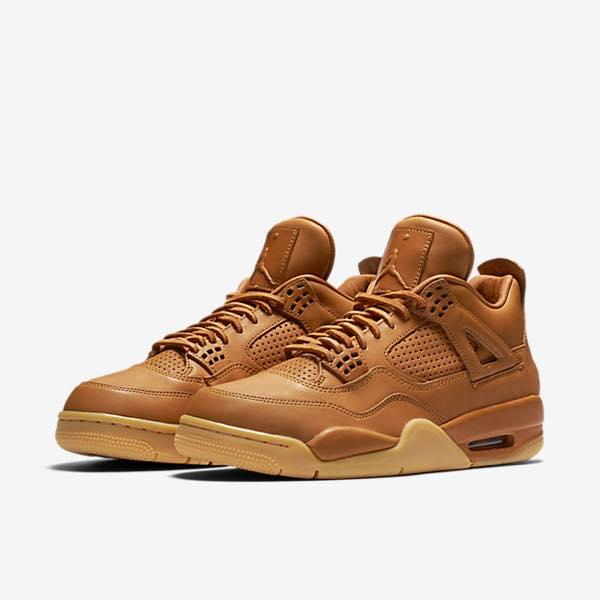 """Nike Air Jordan 4 Premium """"Ginger"""""""