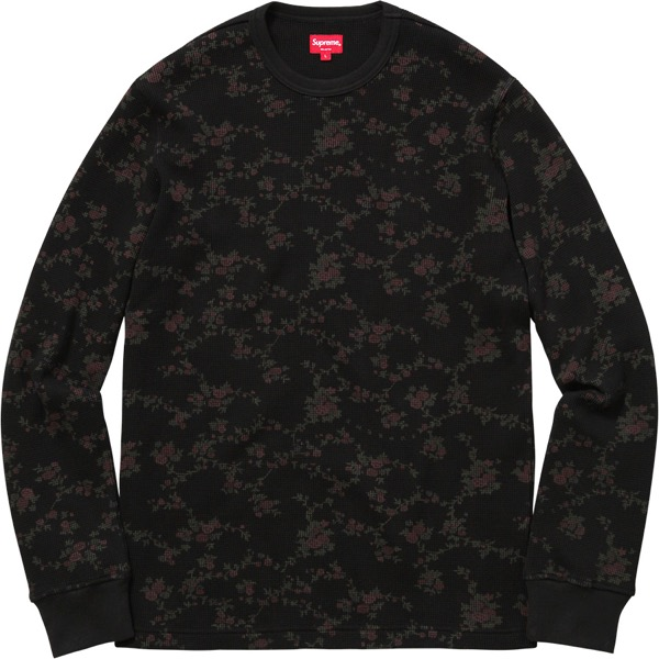 Floral Waffle Thermal
