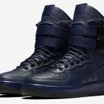 "1月発売予定 Nike SF AIR FORCE 1 W ""Binary Blue"""