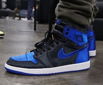 "リーク?NIKE AIR JORDAN 1 ""ROYAL"" SATIN"