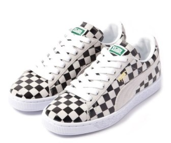 3月31日発売予定 X-girl × PUMA CHECKERED SUEDE