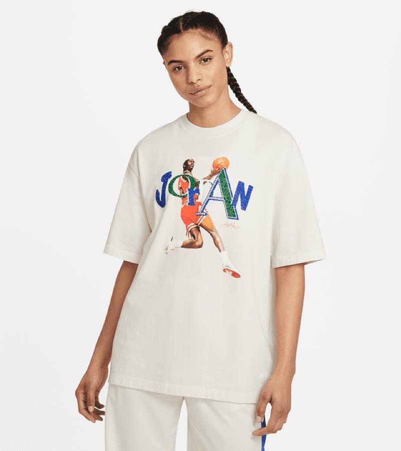ジョーダン x アレイリ メイ Tシャツ ¥5,500