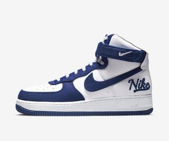 NIKE AIR FORCE 1 HIGH 07 LV8 EMB DODGERS DC8168-100