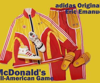 ADIDAS FORUM 84 HIGH EE(Eric Emanuel) McDonald's All-American H02575