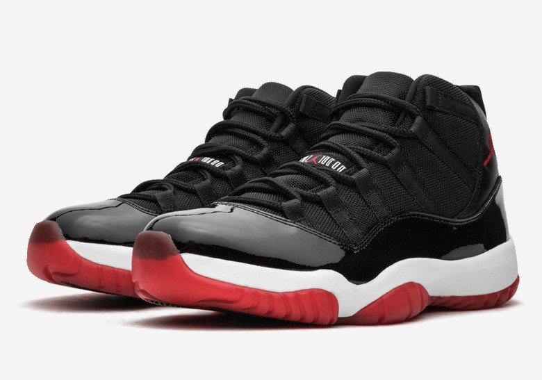 "Jordan 11 ""Bred"" Rumored to Drop Holiday 2019"