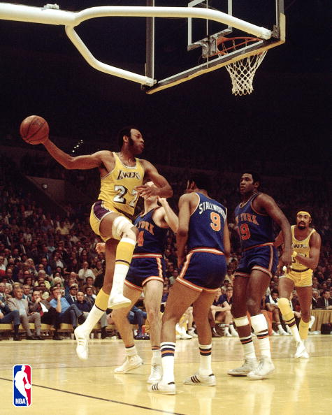 Elgin Baylor Scores 71 Points Against the New York Knicks