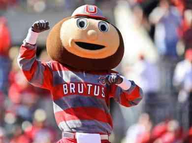 Brutus Buckeye Ohio State Mascot - 10 Best Ohio State Buckeyes Sneakers Of All Time