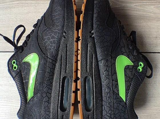"HUF x Nike Air Max 1 ""Hufquake"" Photo Credit @bubblekoppe"