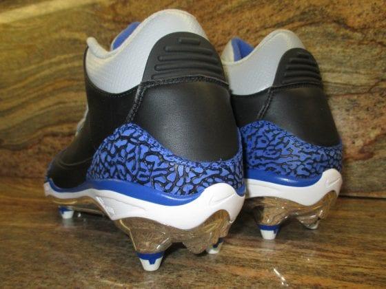 Dwight Freeney Air Jordan 3 PE Cleats