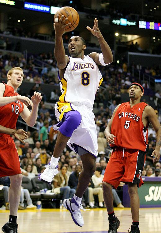 Kobe Bryant 81pts Nike Zoom Kobe 1 Layup