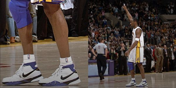 Kobe Bryant 81pts Nike Zoom Kobe 1