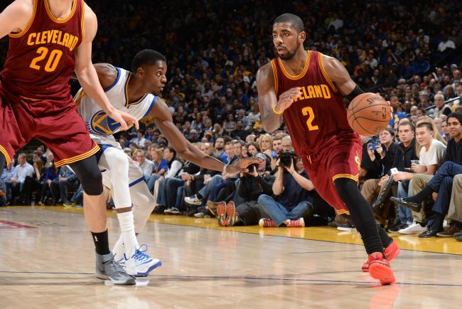 "Kyrie Irving in Nike Kyrie 1 ""Deceptive Red'"
