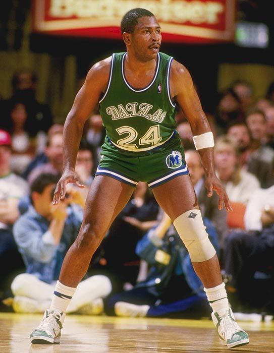 Mark Aguirre Wearing Converse Weapon