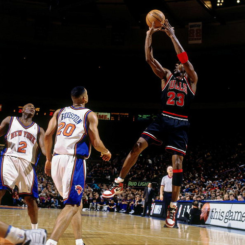 Michael Jordan's Final Game At MSG Appearance as a Chicago Bull Photo via Nathaniel S. Butler