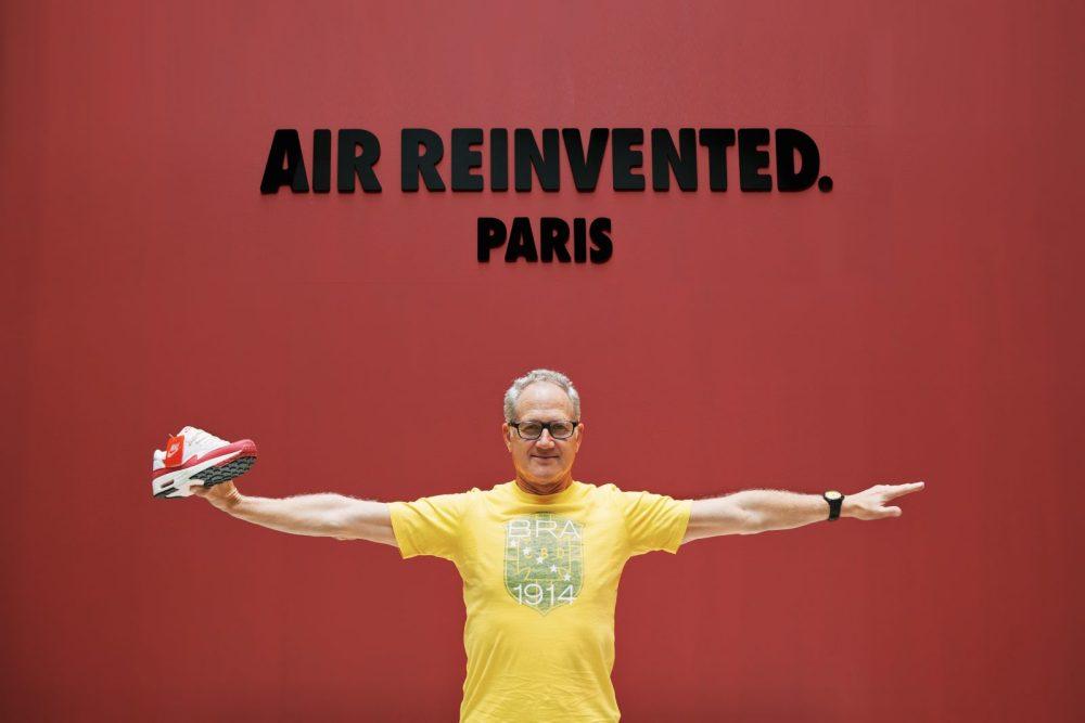 Tinker Hatfield, Nike Designer. Photo courtesy of BKRW