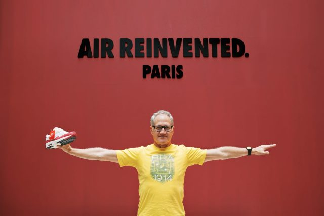 Tinker Hatfield, Nike Designer. Photo courtesy of BKRW