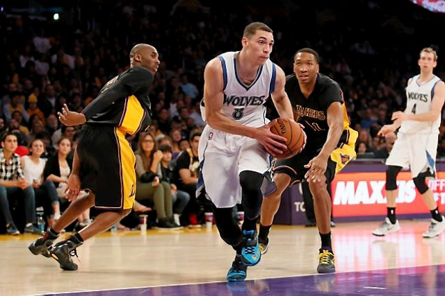 Zach LaVine wearing the Nike KD 7 -  Photo courtesy of AP Photo/Danny Moloshok