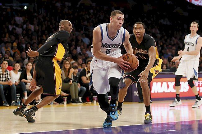 Zach LaVine wearing the Nike KD 7 -  Photo courtesy of AP Photo/Danny Moloshok
