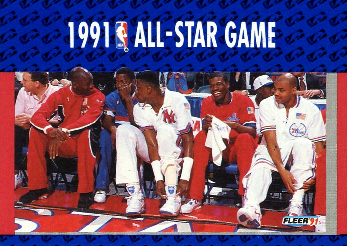 1991 All Star Game Fleer Card