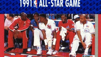 1991 All Star Game Fleer Card