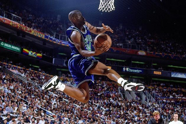 1994 Isaiah Rider in Converse NBA Threat