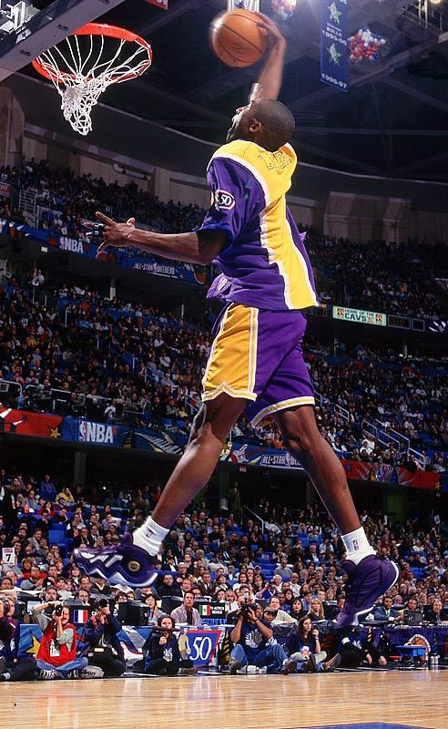 1997 Kobe Bryant in adidas EQT Elevation