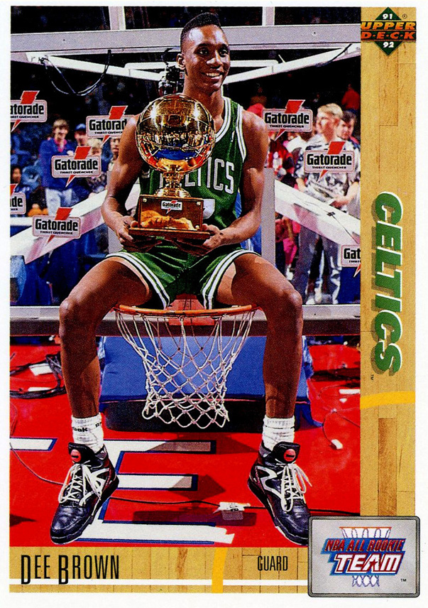 Dee Brown 1991 Slam Dunk Champion Card