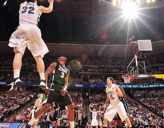 Jimmer Fredette in Nike Air Max Fly By