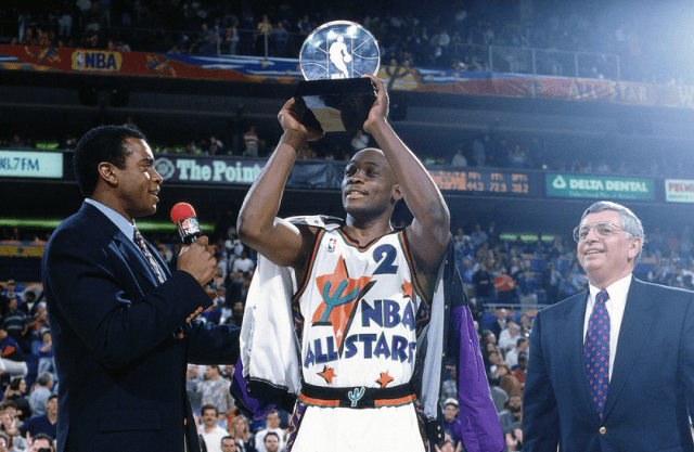 Mitch Richmond 1995 NBA All-Star MVP