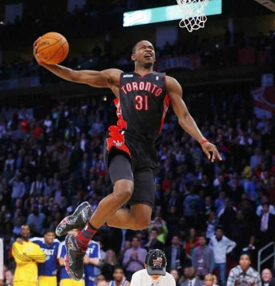 Terrence Ross in the Nike Barkley Foamposite