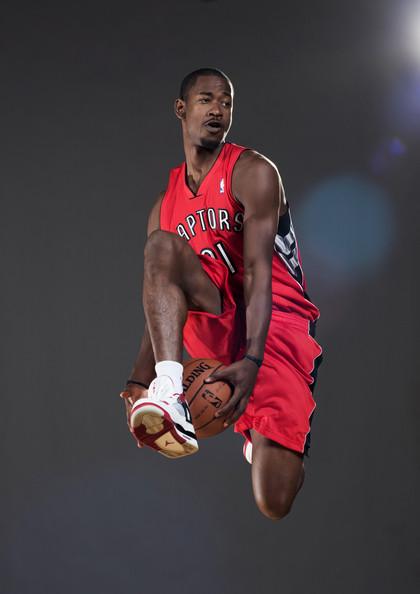 Terrence Ross in the Air Jordan 4