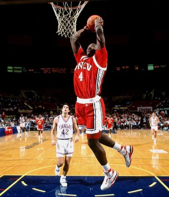 Larry Johnson Nike Air Force STS