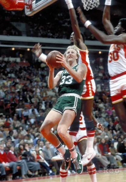On This Day in 1985 Larry Bird scored 60pts In Converse Pro Leathers