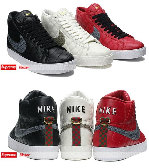 Supreme x Nike SB Blazer Pack