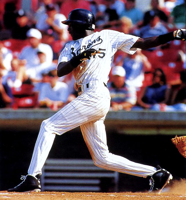 Michael Jordan's First Baseball Game in Air Jordan 9 Cleats PE