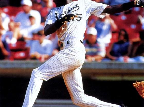 Michael Jordan's First Baseball Game in Air Jordan 9 Cleats PE