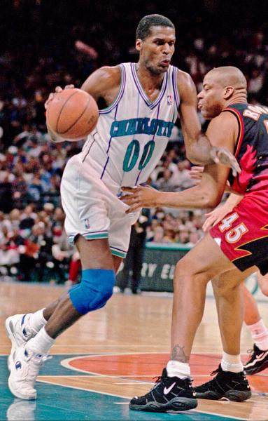 Robert Parish in Champion Sneakers