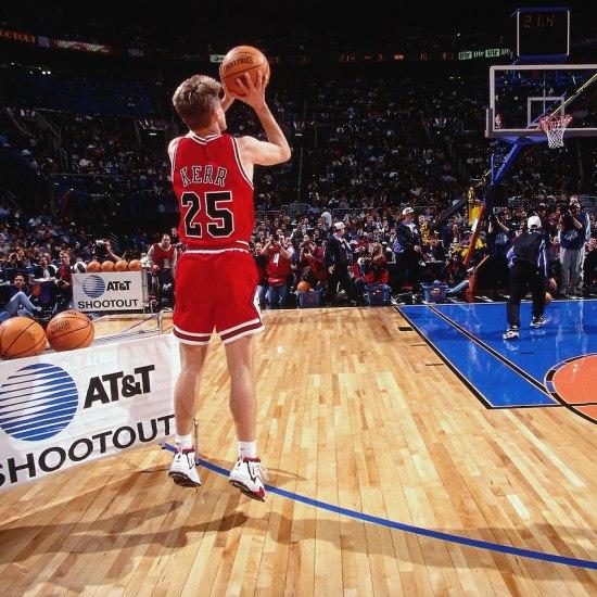 Steve Kerr in Nike Air Maestro III (1996)