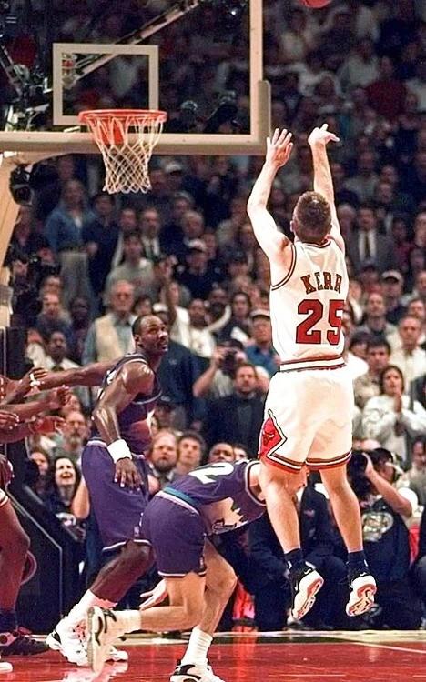 Steve Kerr in Nike Air Rise Uptempo