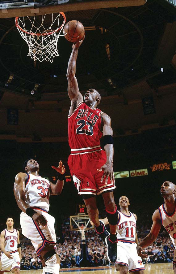Michael Jordan in Air Jordan XI IE Low