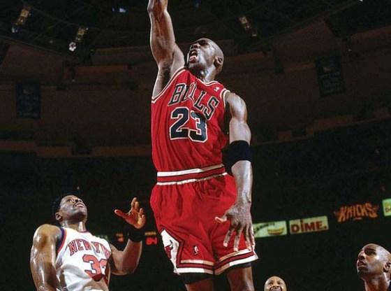 Michael Jordan in Air Jordan XI IE Low