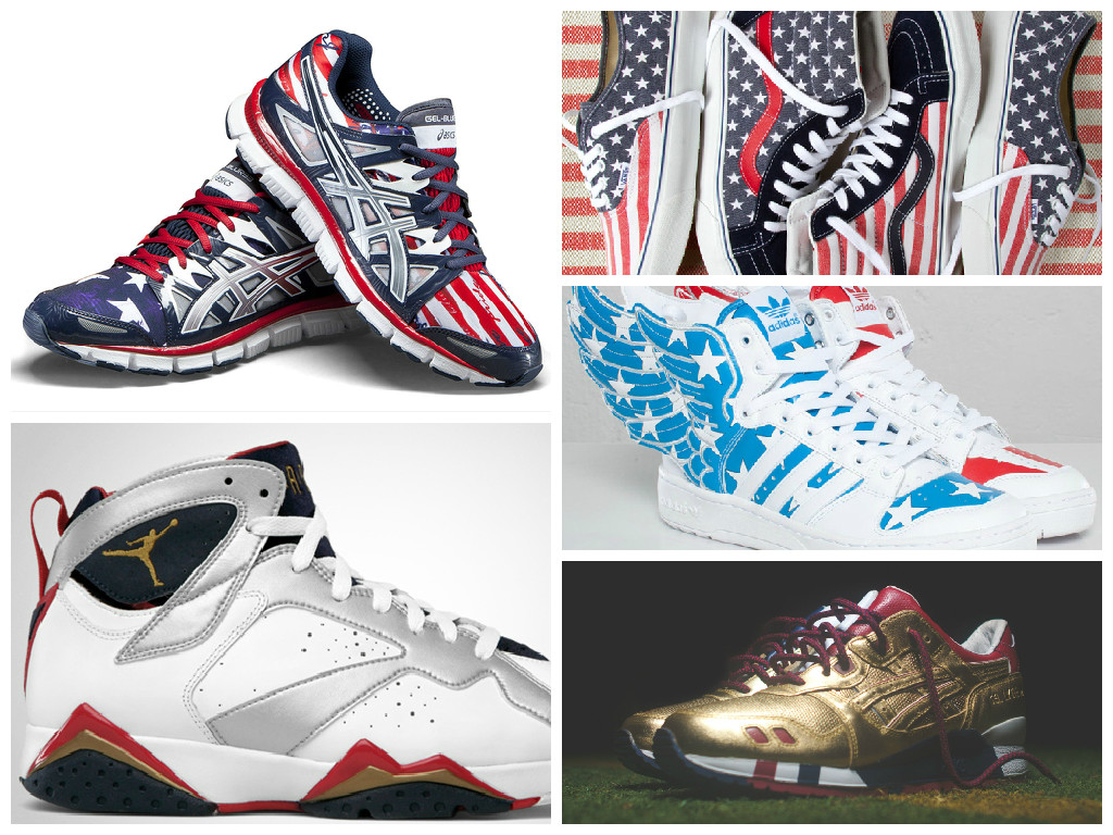 """c29cd6e3da8 15 """"Patriotic"""" Sneakers to Wear This Weekend"""